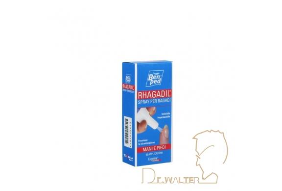 BenPed Rhagadil Spray per Ragadi mani e piedi 80 applicazioni 9ml