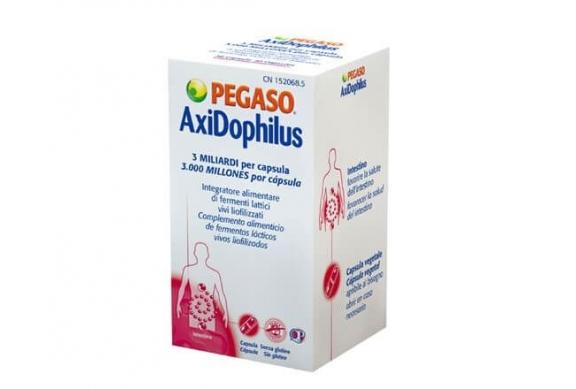 Pegaso AxiDophilus Integratore alimentare fermenti lattici 30 Capsule