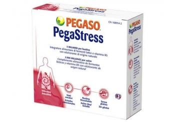 Pegaso PegaStress integratore alimentare intestino 18 bustine