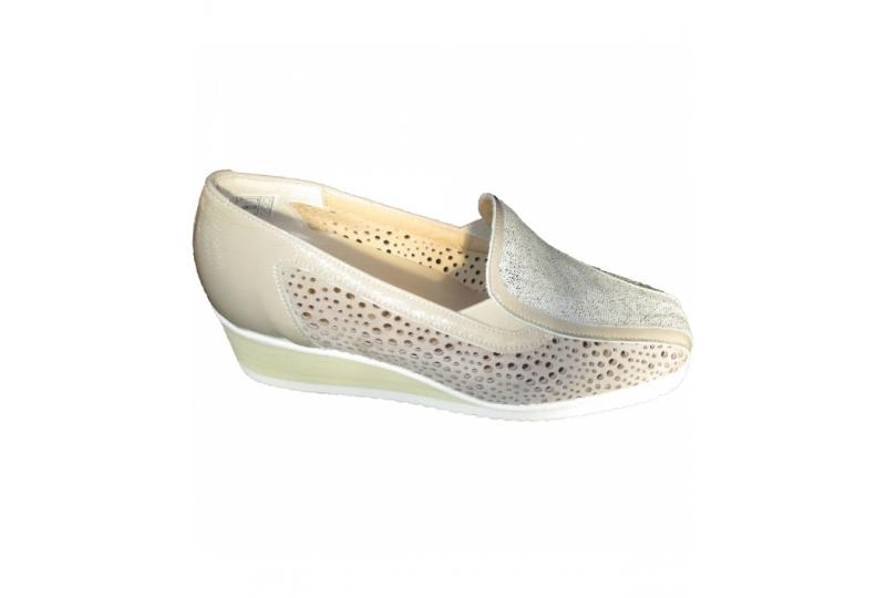 Ortholine 370 scarpa donna plantare estraibile traforata con zeppa ... 50115e31a23