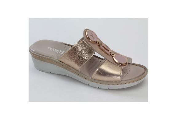 Valleverde Comfort V1964 sandalo donna elegante plantare morbido ... 97a0569e240