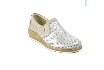 Tecnosan 50762 scarpa da donna plantare estraibile traforata elasticizzata dita sensibili