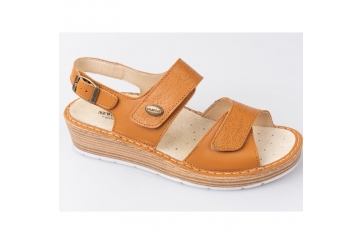 Newcomfort by Goldstar 34765 sandalo donna comodo con plantare estraibile tomaia regolabile