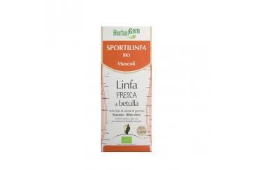 Herbalgem Sportilinfa Bio Muscoli 250 ml linfa fresca di Betulla