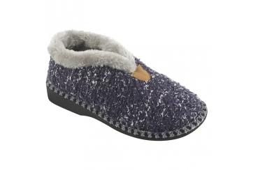 Ecosanit Mod. Maite pantofola donna tallone chiuso calda