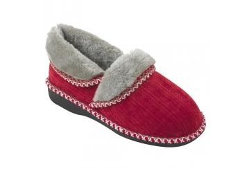Ecosanit Mod. Megan velluto pantofola donna tallone chiuso calda