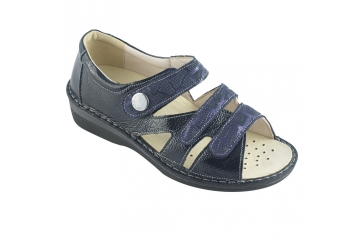 Ecosanit Mod. Ecuador sandalo donna regolabile chiuso sul tallone