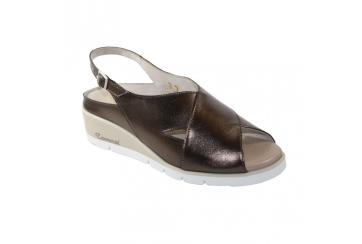Calzaturificio F.lli Tomasi Mod. Leopolda Sabot sandalo donna plantare morbido estraibile