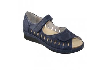 Calzaturificio F.lli Tomasi Mod. Abbey sandalo donna plantare estraibile tallone chiuso linea Camminare è Vivere