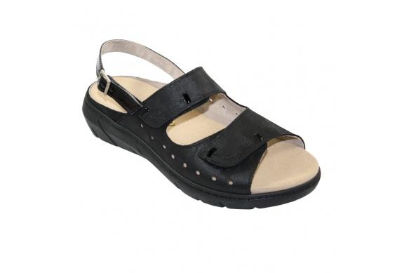 Calzaturificio F.lli Tomasi Mod. Daiana sandalo predisposto regolabile della linea Camminare è Vivere