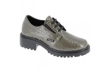 Hergos H7600 scarpa donna comoda elegante plantare estraibile tortora